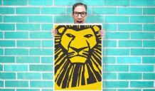 Lion King the Musical - Wall Art Print Poster   - Musical Poster Geekery